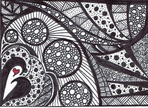 Black-and-White-Abstract-ACEO