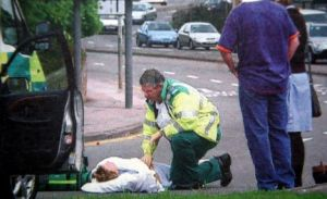 ambulance crew rescue