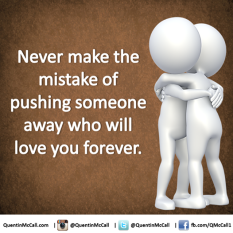 never make the mistake