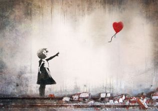 Banksy balloon